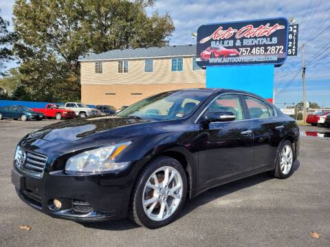 2012 Nissan Maxima for sale at Auto Outlet Sales and Rentals in Norfolk VA