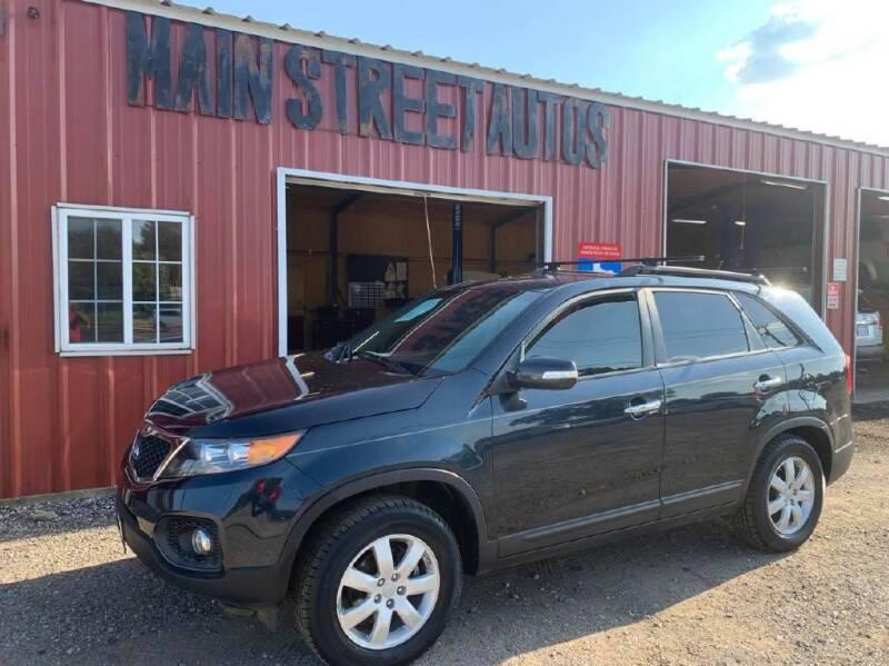 2013 Kia Sorento for sale at Main Street Autos Sales and Service LLC in Whitehouse TX
