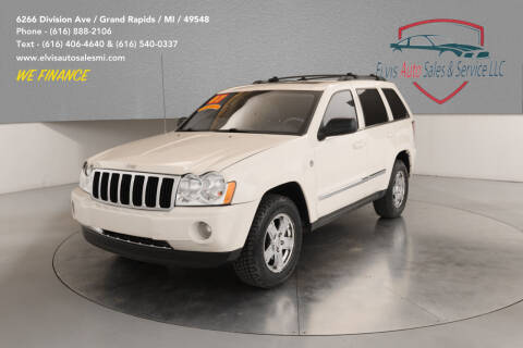 2007 Jeep Grand Cherokee for sale at Elvis Auto Sales LLC in Grand Rapids MI
