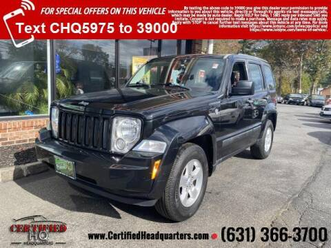 2011 Jeep Liberty for sale at CERTIFIED HEADQUARTERS in St James NY