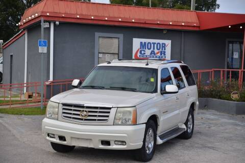 2003 Cadillac Escalade for sale at Motor Car Concepts II - Kirkman Location in Orlando FL