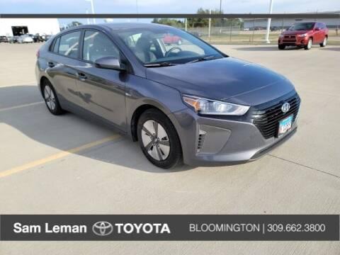 2019 Hyundai Ioniq Hybrid for sale at Sam Leman Toyota Bloomington in Bloomington IL