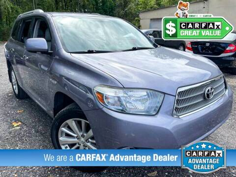 2009 Toyota Highlander Hybrid for sale at High Rated Auto Company in Abingdon MD