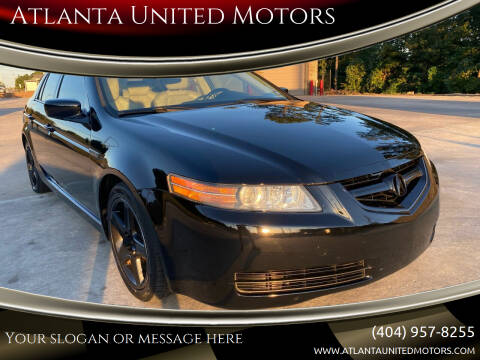 2006 Acura TL for sale at Atlanta United Motors in Buford GA