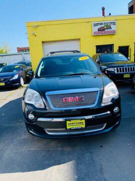 2012 GMC Acadia for sale at Hartford Auto Center in Hartford CT