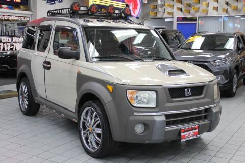 2005 Honda Element for sale at Windy City Motors in Chicago IL