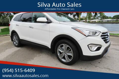 2016 Hyundai Santa Fe for sale at Silva Auto Sales in Pompano Beach FL