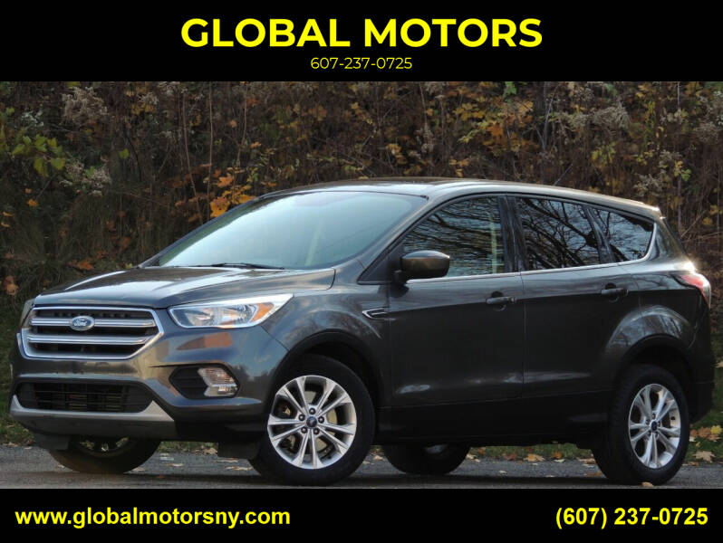 2017 Ford Escape for sale at GLOBAL MOTORS in Binghamton NY