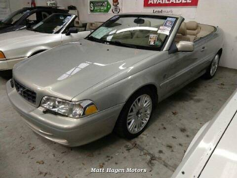 2003 Volvo C70 for sale at Matt Hagen Motors in Newport NC