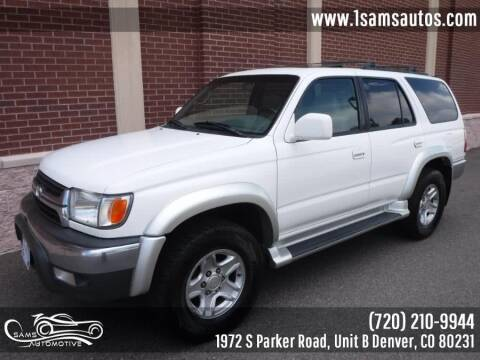 2002 Toyota 4Runner for sale at SAM'S AUTOMOTIVE in Denver CO