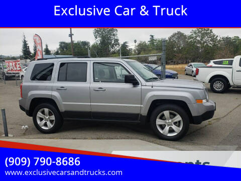2015 Jeep Patriot for sale at Exclusive Car & Truck in Yucaipa CA