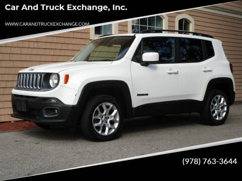 2015 Jeep Renegade for sale at Car and Truck Exchange, Inc. in Rowley MA