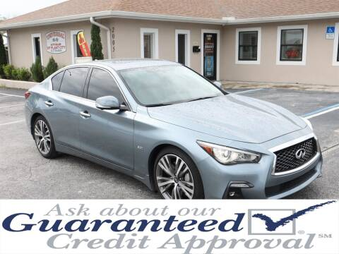 2018 Infiniti Q50 for sale at Universal Auto Sales in Plant City FL