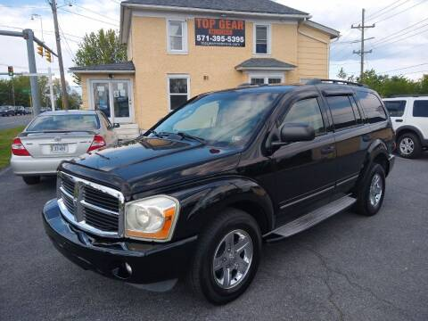 2005 Dodge Durango for sale at Top Gear Motors in Winchester VA