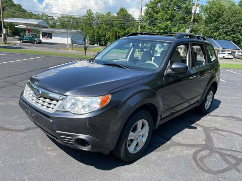 2011 Subaru Forester for sale at Volpe Preowned in North Branford CT