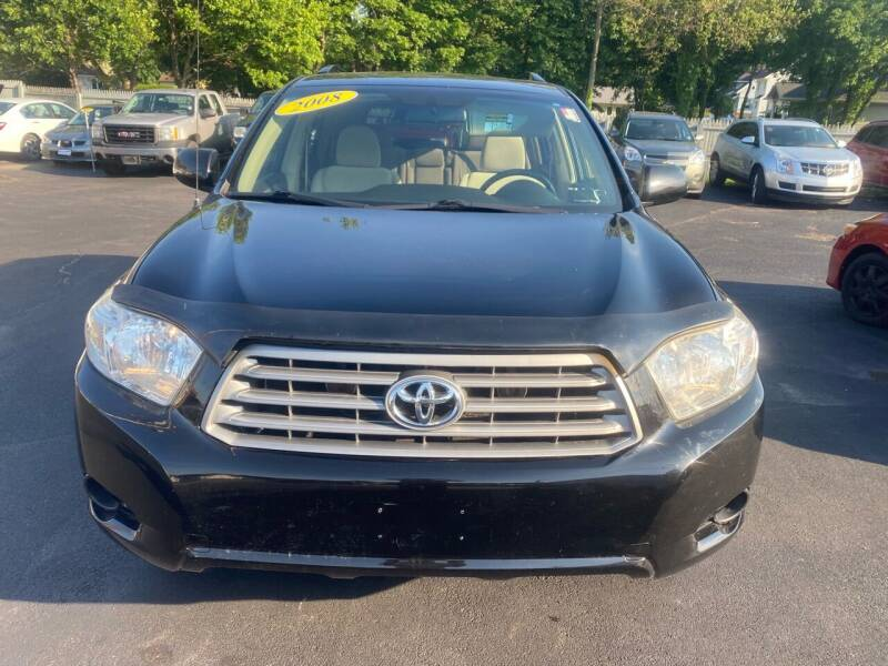 2008 Toyota Highlander for sale at Right Choice Automotive in Rochester NY