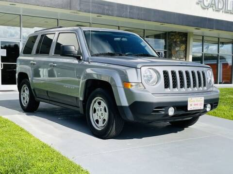 2015 Jeep Patriot for sale at RUSTY WALLACE CADILLAC GMC KIA in Morristown TN