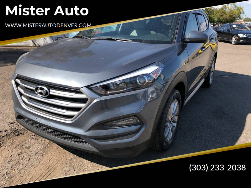 2018 Hyundai Tucson for sale at Mister Auto in Lakewood CO