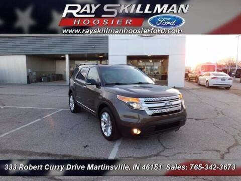 2015 Ford Explorer for sale at Ray Skillman Hoosier Ford in Martinsville IN