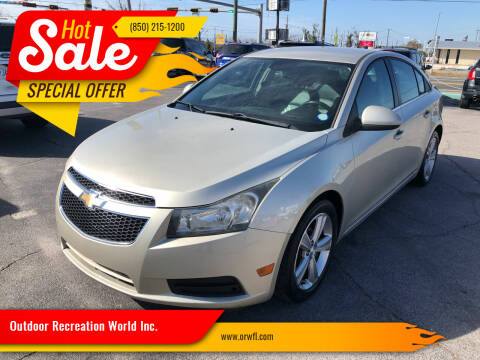 2013 Chevrolet Cruze for sale at Outdoor Recreation World Inc. in Panama City FL