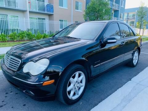 2002 Mercedes-Benz C-Class for sale at LA Motors Miami in Miami FL