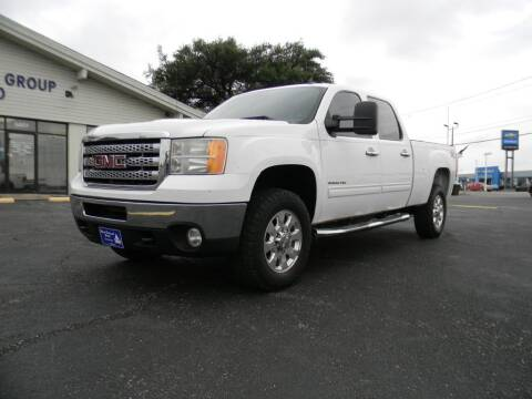 2012 GMC Sierra 2500HD for sale at MARK HOLCOMB  GROUP PRE-OWNED in Waco TX