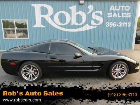 2003 Chevrolet Corvette for sale at Rob's Auto Sales - Robs Auto Sales in Skiatook OK