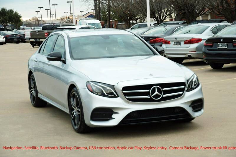 2020 Mercedes-Benz E-Class for sale at Silver Star Motorcars in Dallas TX
