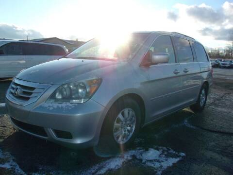 2010 Honda Odyssey for sale at DAVE KNAPP USED CARS in Lapeer MI