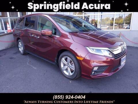 2018 Honda Odyssey for sale at SPRINGFIELD ACURA in Springfield NJ
