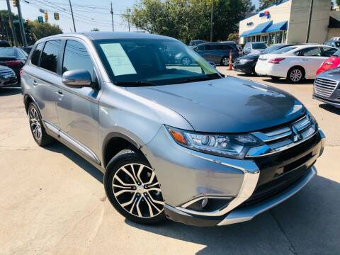 2016 Mitsubishi Outlander for sale at Capital Motors in Raleigh NC