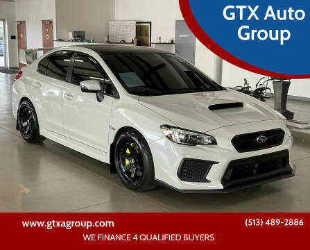 2019 Subaru WRX for sale at GTX Auto Group in West Chester OH