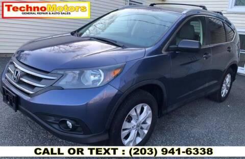 2013 Honda CR-V for sale at Techno Motors in Danbury CT