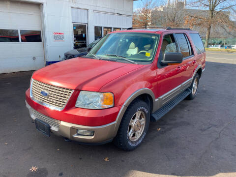 2003 Ford Expedition for sale at Vuolo Auto Sales in North Haven CT