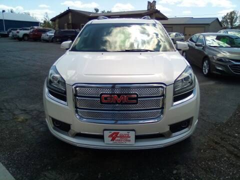 2014 GMC Acadia for sale at Four Guys Auto in Cedar Rapids IA