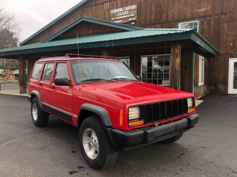 1997 Jeep Cherokee for sale at Coeur Auto Sales in Hayden ID