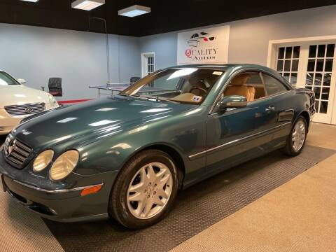 2002 Mercedes-Benz CL-Class for sale at Quality Autos in Marietta GA
