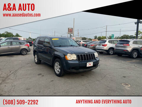 2008 Jeep Grand Cherokee for sale at A&A AUTO in Fairhaven MA