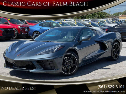 2021 Chevrolet Corvette for sale at Classic Cars of Palm Beach in Jupiter FL