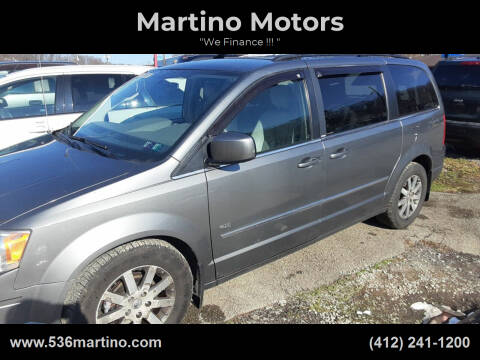 2009 Chrysler Town and Country for sale at Martino Motors in Pittsburgh PA