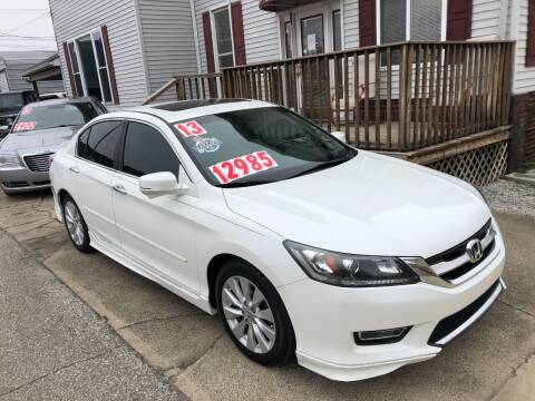 2013 Honda Accord for sale at Kramer Motor Co INC in Shelbyville IN