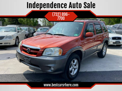 2005 Mazda Tribute for sale at Independence Auto Sale in Bordentown NJ