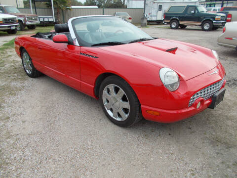 2002 Ford Thunderbird for sale at MOTION TREND AUTO SALES in Tomball TX