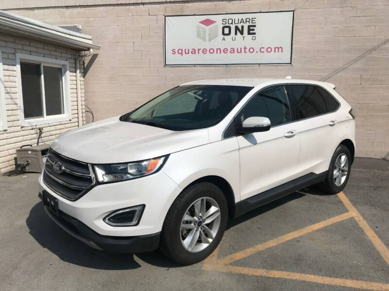 2017 Ford Edge for sale at SQUARE ONE AUTO LLC in Murray UT