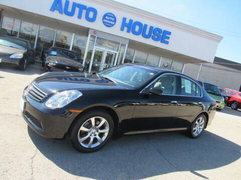2006 Infiniti G35 for sale at Auto House Motors in Downers Grove IL