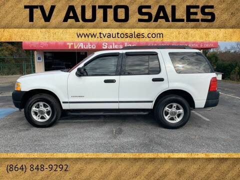 2005 Ford Explorer for sale at TV Auto Sales in Greer SC