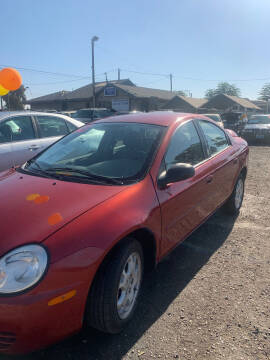 2004 Dodge Neon for sale at Premier Auto Sales in Modesto CA