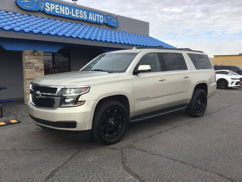 2015 Chevrolet Suburban for sale at SPEND-LESS AUTO in Kingman AZ
