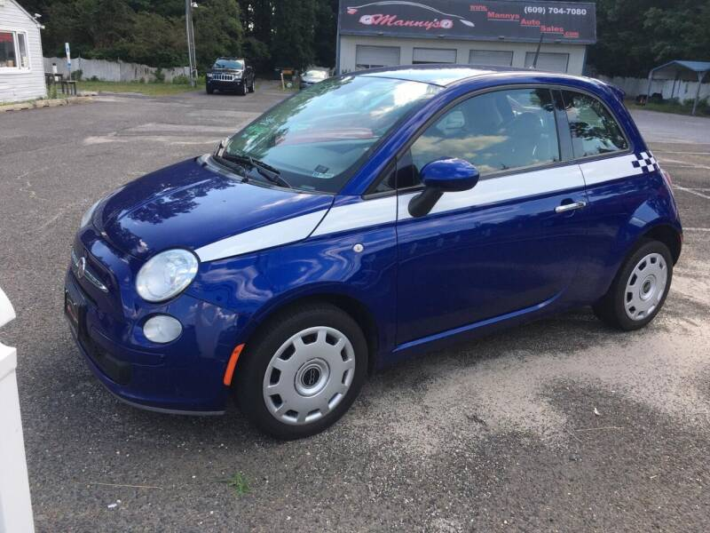 2013 FIAT 500 for sale at Manny's Auto Sales in Winslow NJ