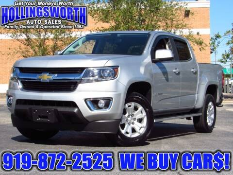 2019 Chevrolet Colorado for sale at Hollingsworth Auto Sales in Raleigh NC
